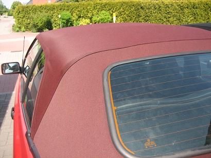 Verdeck cabrio golf beziehen 3 neu Verdeck beim